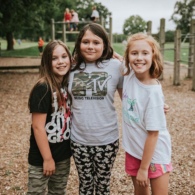 3 Students on Playground