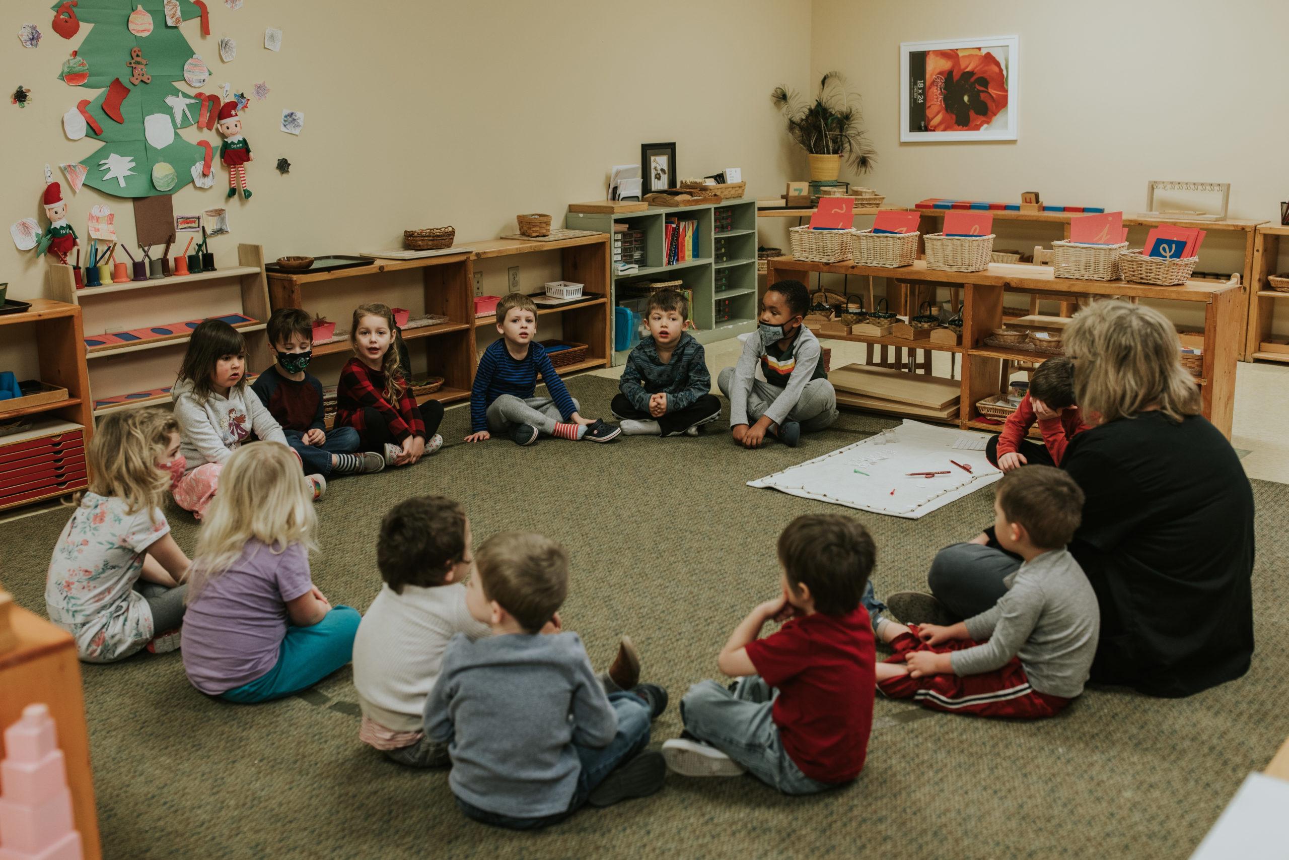 Class in Circle