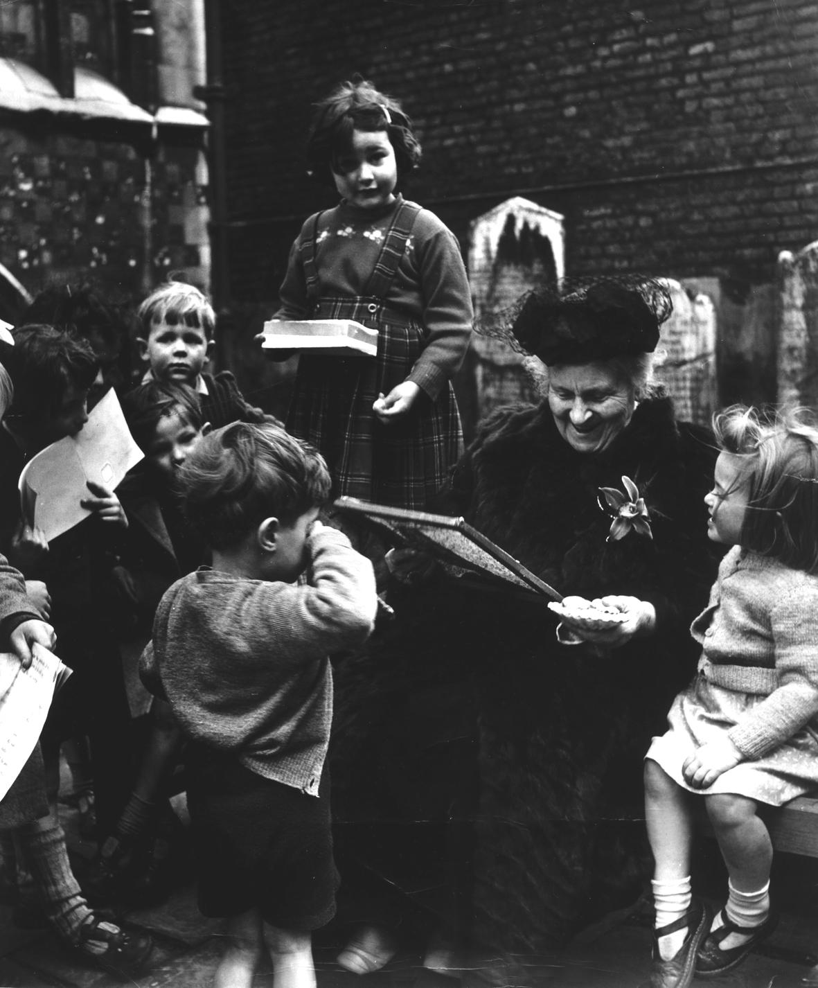 Maria Montessori and Students
